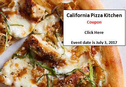 CA Pizza Kitchen coupon | American Legion Post 6 News & Views