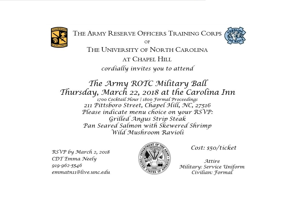 Let S Join The Army Rotc For A Military Ball American Legion Post