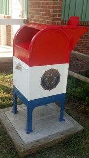 Legion Flag Box