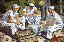 Navy field cooking