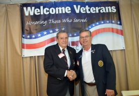 NCDE Governor Andy Leggette welcomes Bud Hampton
