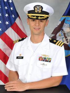 CDR Montalvo - Navy Photo